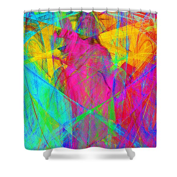 Mother of Exiles 20130618p180 Long Shower Curtain by Wingsdomain Art and Photography