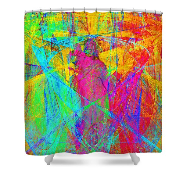Mother of Exiles 20130618p180 Shower Curtain by Wingsdomain Art and Photography