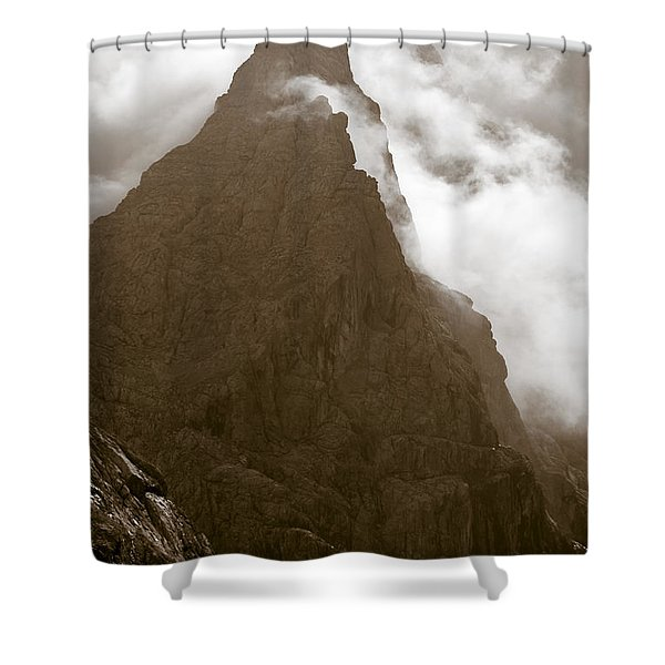 Mountainscape Shower Curtain by Frank Tschakert