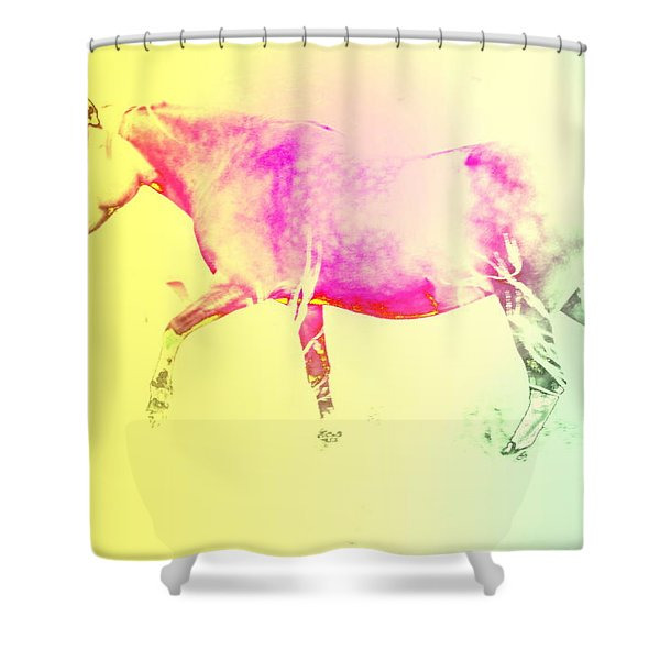 moving spirit Shower Curtain by Hilde Widerberg