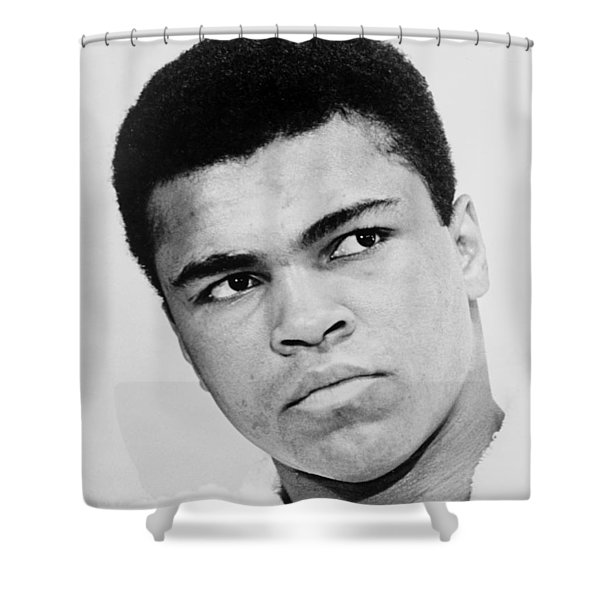 Muhammad Ali 1967 Shower Curtain by Mountain Dreams