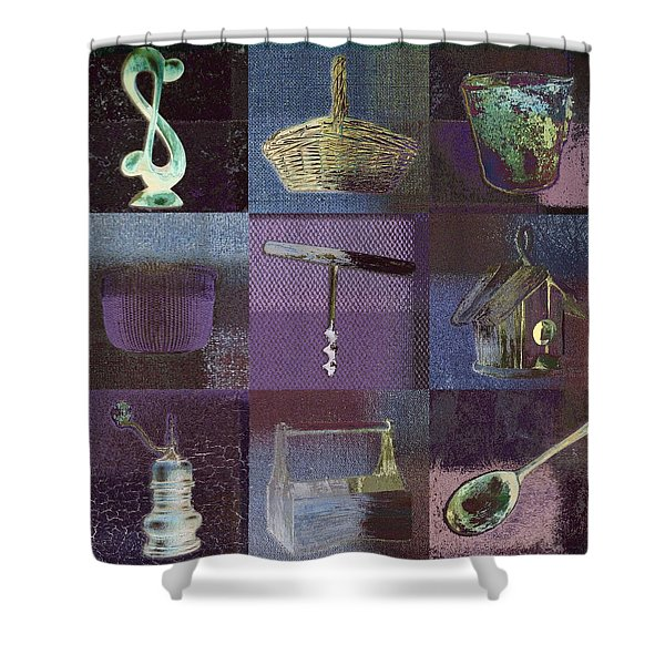 Multi Home Decor - Bz01 Shower Curtain by Variance Collections