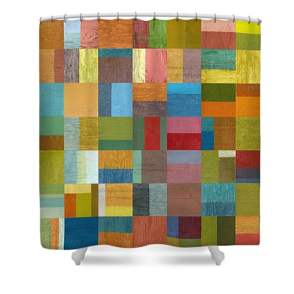 Multiple Exposures ll Shower Curtain by Michelle Calkins