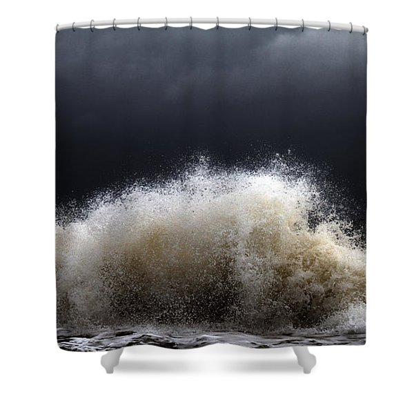 My Brighter Side of Darkness Shower Curtain by Stylianos Kleanthous