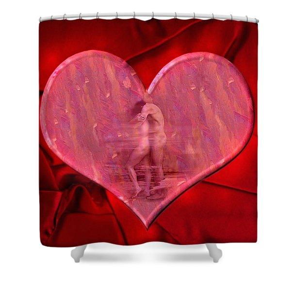 My Heart's Desire 2 Shower Curtain by Kurt Van Wagner