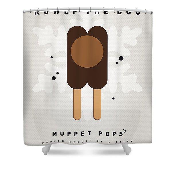 My MUPPET ICE POP - Rowlf Shower Curtain by Chungkong Art