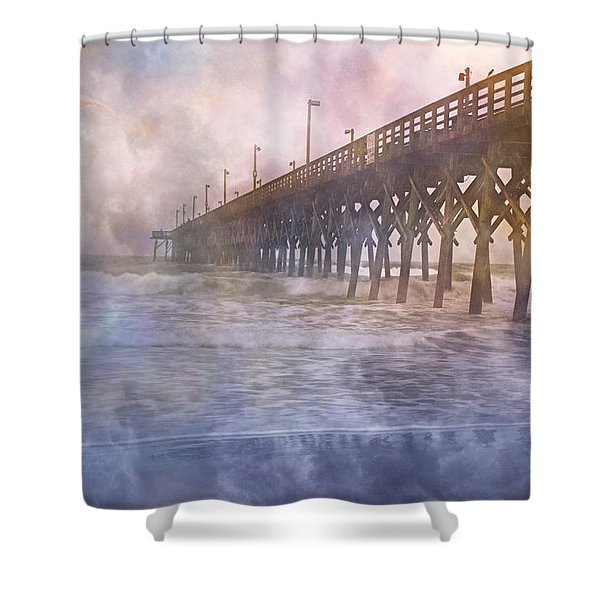 Mystical Morning Shower Curtain by Betsy C  Knapp