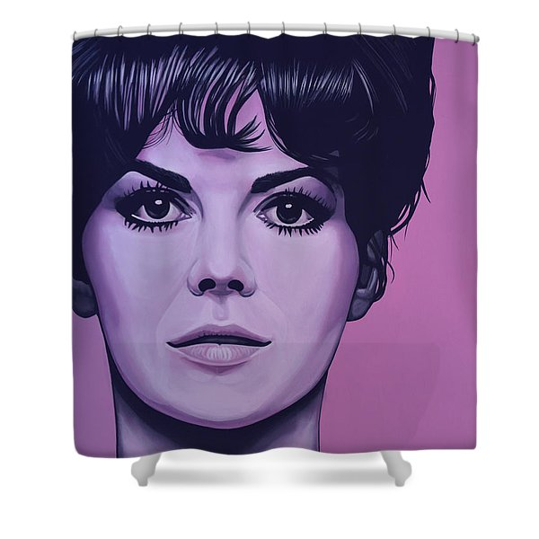 Natalie Wood Shower Curtain by Paul  Meijering