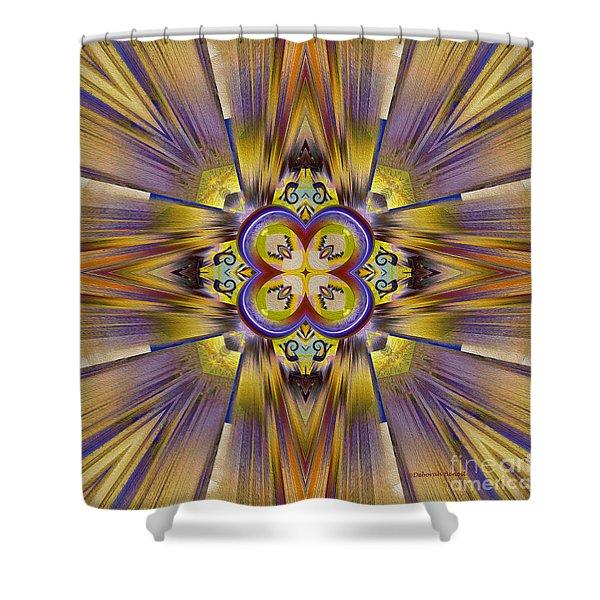 Native American Spirit Shower Curtain by Deborah Benoit