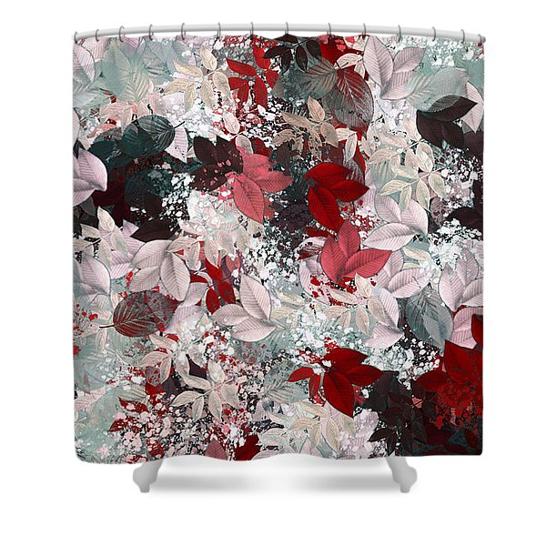Naturaleaves - S69-02a Shower Curtain by Variance Collections