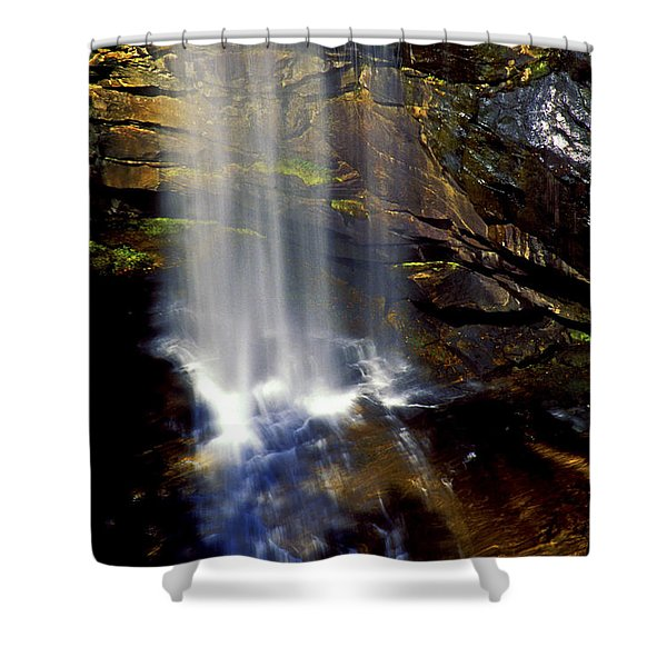 Natures Shower Stall Shower Curtain by Paul W Faust -  Impressions of Light