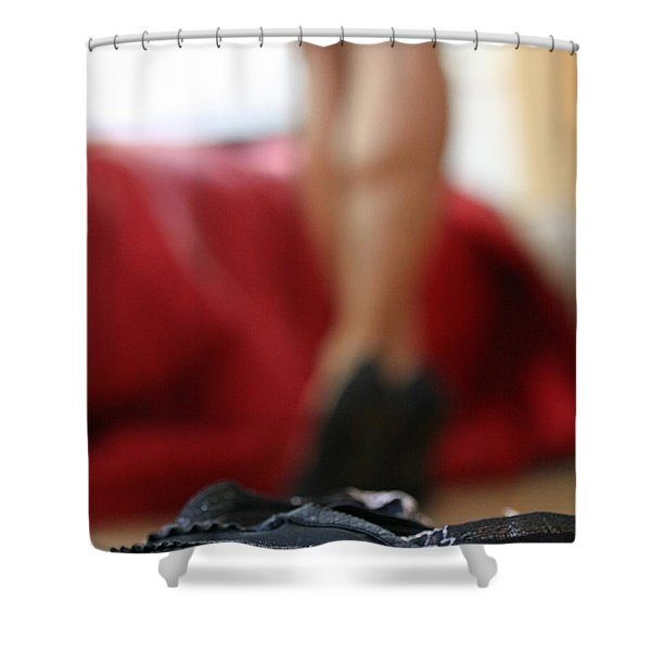 Naughty Or Nice Shower Curtain by Shoal Hollingsworth