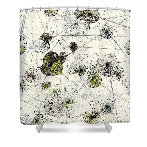 Neural Network Shower Curtain by Anastasiya Malakhova