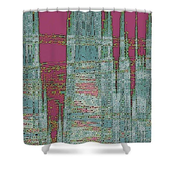 New Era Shower Curtain by Ben and Raisa Gertsberg