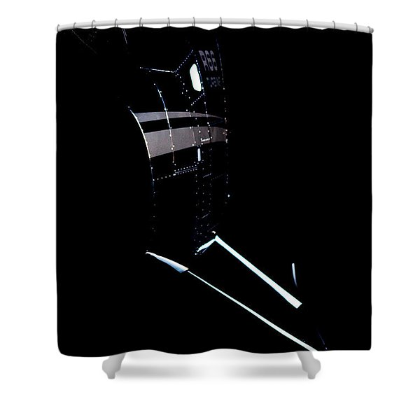 Night 66 Shower Curtain by Paul Job