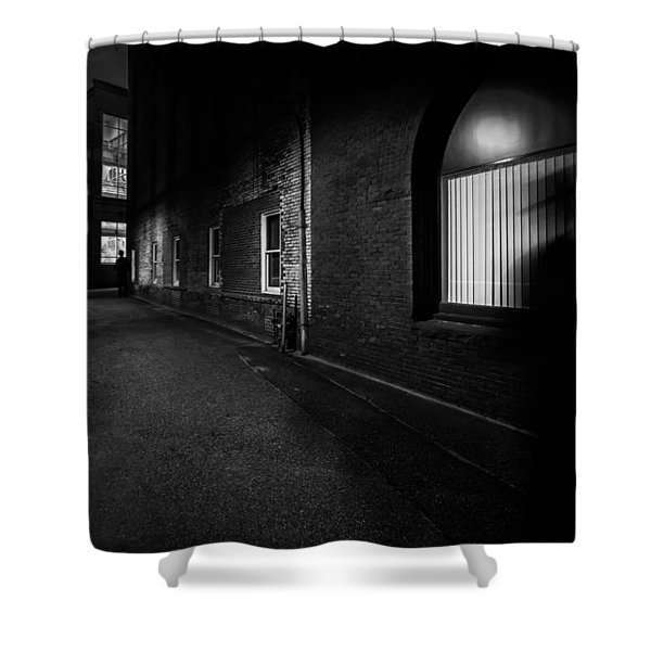 Night People Shower Curtain by Bob Orsillo
