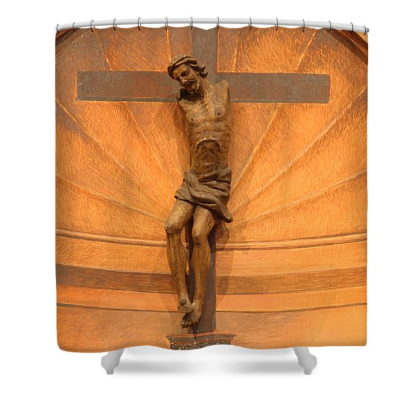 No Hands But Yours Shower Curtain by Bob Christopher