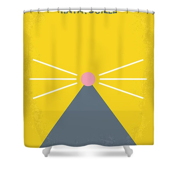 No163 My Ratatouille Minimal Movie Poster Shower Curtain by Chungkong Art