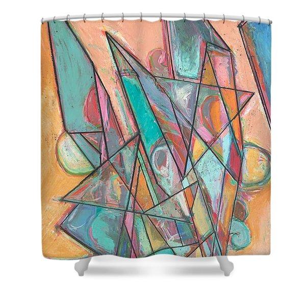 Noontime Shower Curtain by Allan P Friedlander