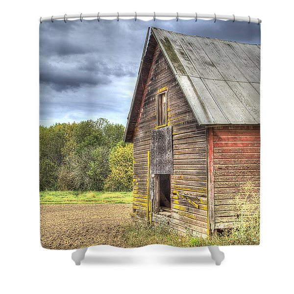 Northwest Barn Shower Curtain by Jean Noren
