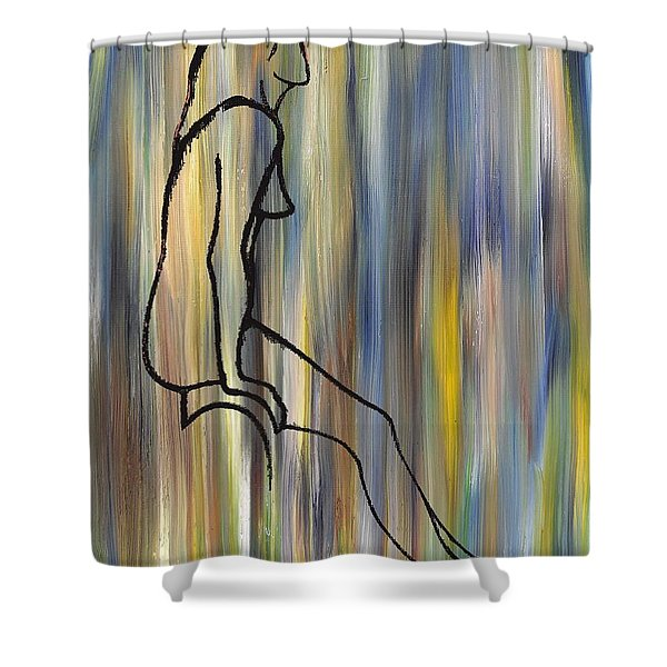 Nude 14 Shower Curtain by Patrick J Murphy