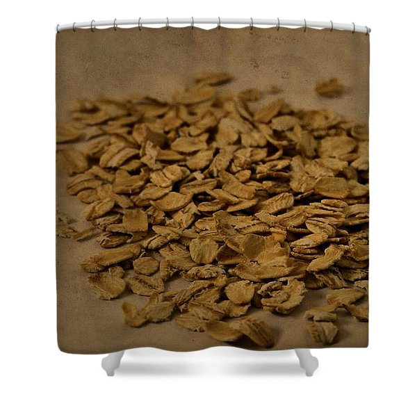 Oatmeal For Breakfast Shower Curtain by Dan Sproul