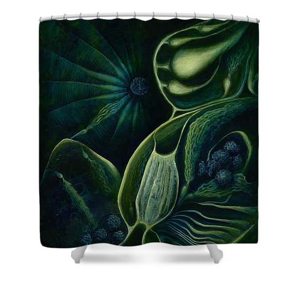 Ocean Mother Shower Curtain by Lyn Pacificar