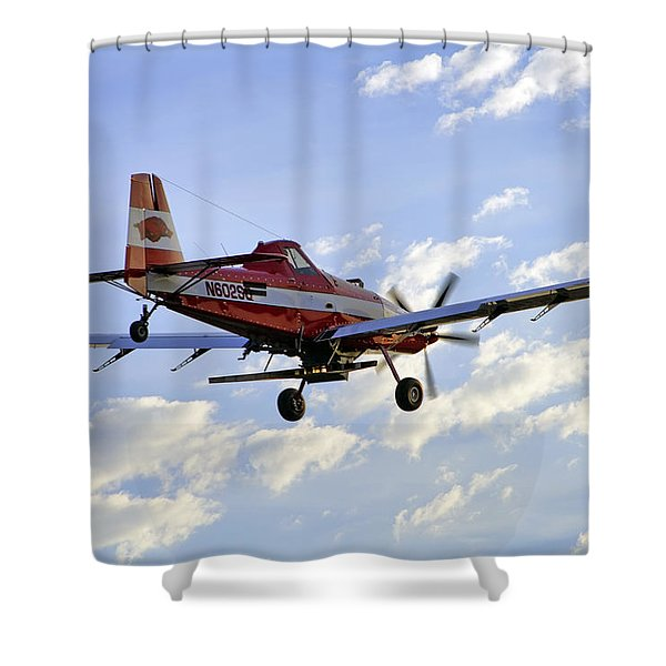 Off to Work Shower Curtain by Jason Politte
