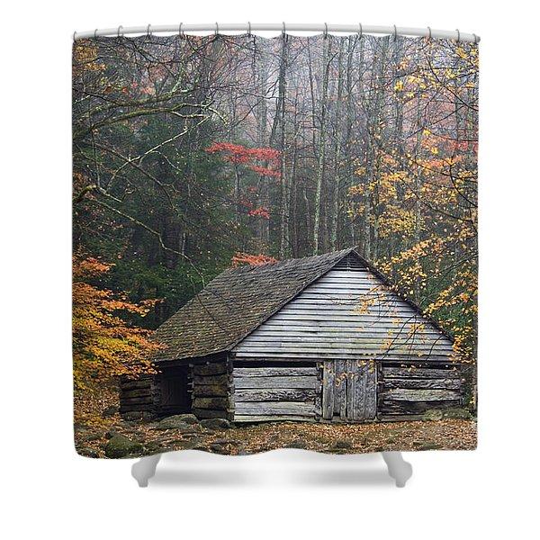 Ogle Place - D008241 Shower Curtain by Daniel Dempster