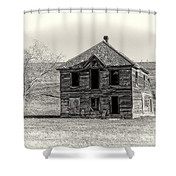 Okanogan Homestead - Washington Shower Curtain by Daniel Hagerman