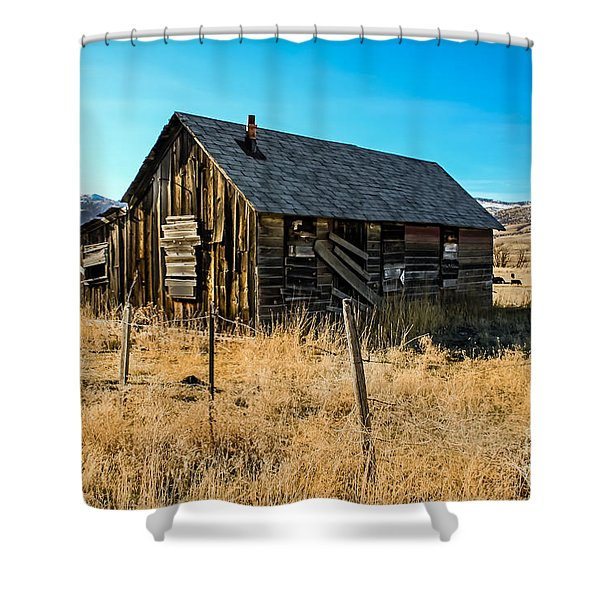 Old And Forgotten Shower Curtain by Robert Bales