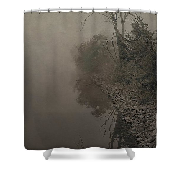 Old Soul Shower Curtain by Dan Sproul