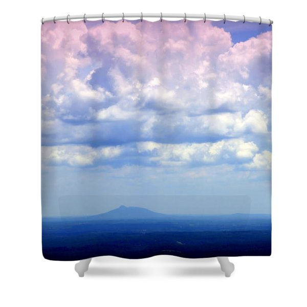 ON A CLEAR DAY Shower Curtain by KAREN WILES