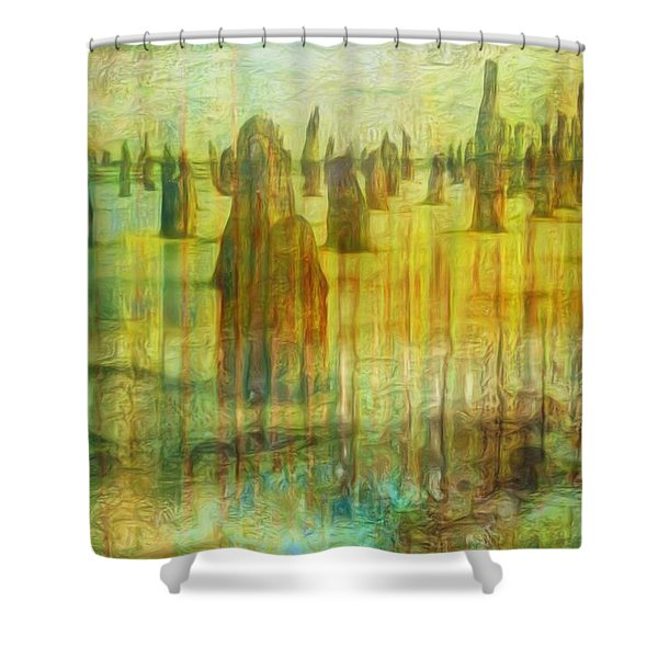 Once There Was Shower Curtain by Jack Zulli