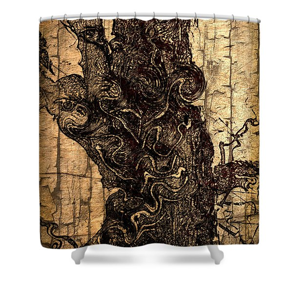 Once Upon A Time Shower Curtain by EricaMaxine  Price