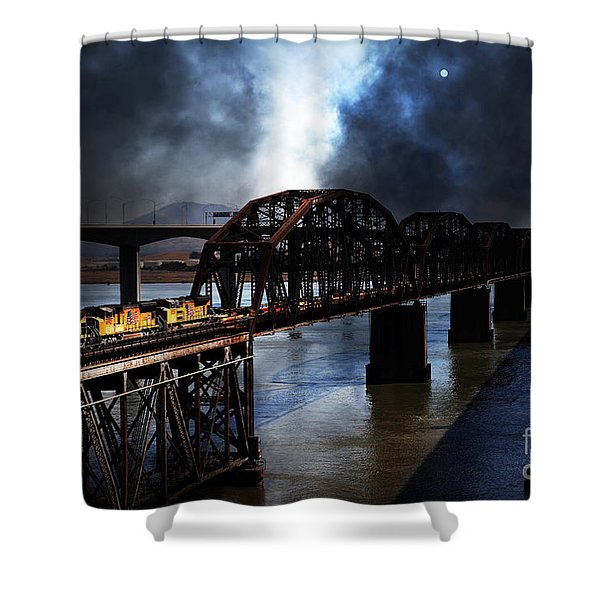 Once Upon A Time In The Story Book Town Of Benicia California - 5d18849 Shower Curtain by Wingsdomain Art and Photography