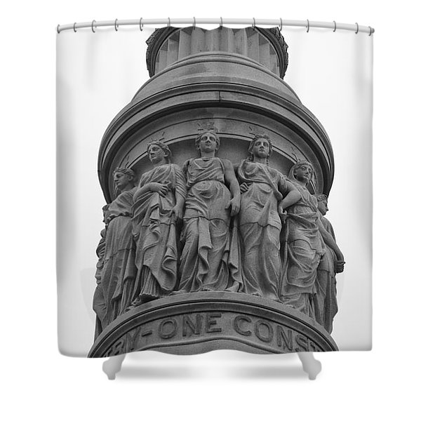 One Constitution Shower Curtain by Teresa Mucha