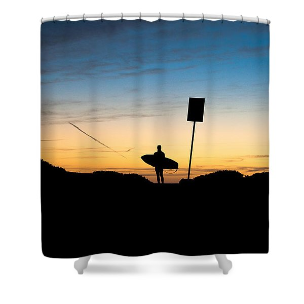 One Last Look Shower Curtain by John Daly