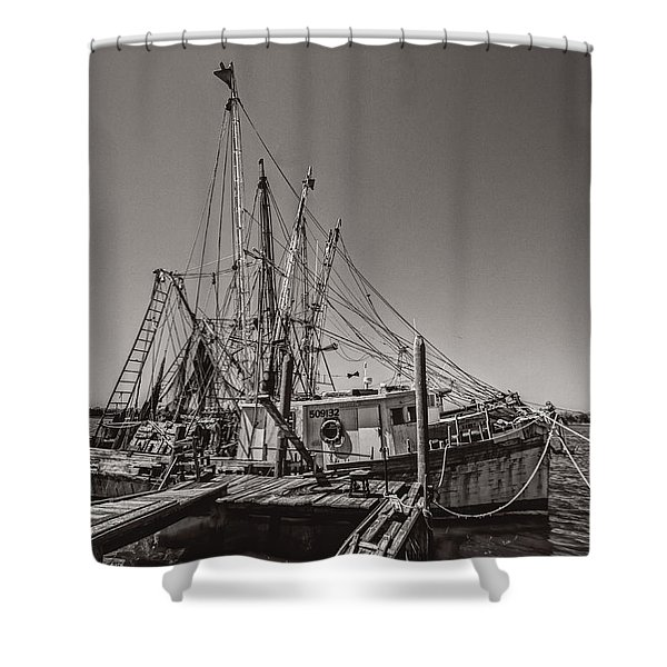 One More Season Shower Curtain by Debra and Dave Vanderlaan