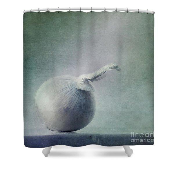 onion Shower Curtain by Priska Wettstein