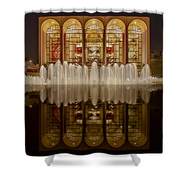 Opera House Reflections Shower Curtain by Susan Candelario