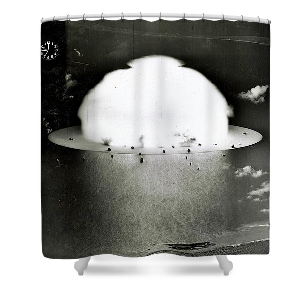 Operation Crossroads Shower Curtain by Benjamin Yeager