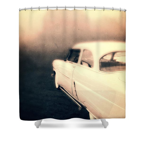 Out of Gas Shower Curtain by Edward Fielding