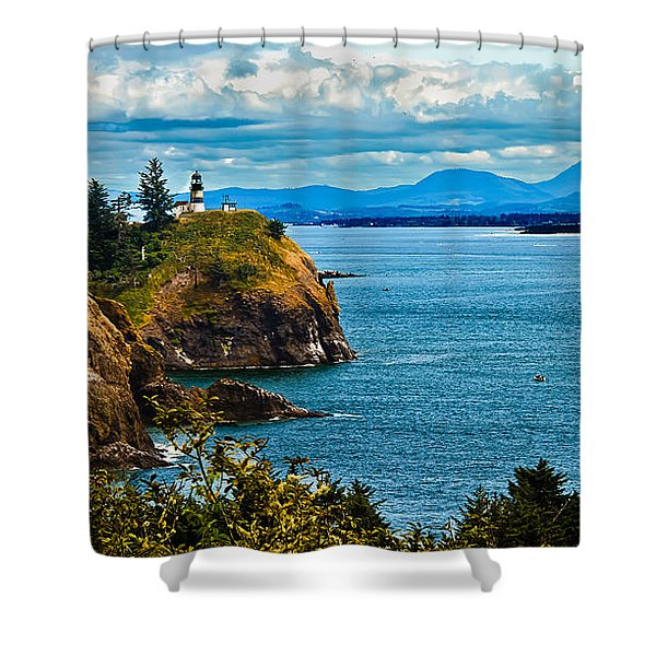 Overlooking Shower Curtain by Robert Bales