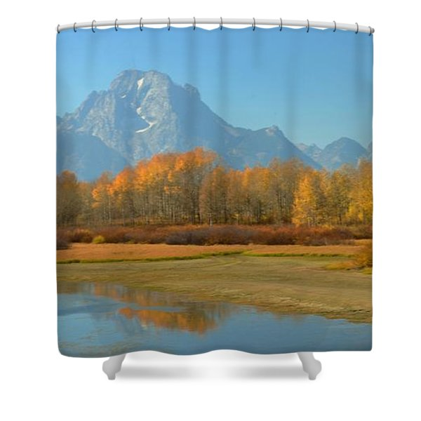 Oxbow Bend Shower Curtain by Kathleen Struckle
