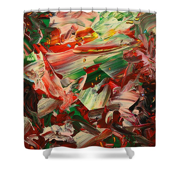 Paint number 48 Shower Curtain by James W Johnson