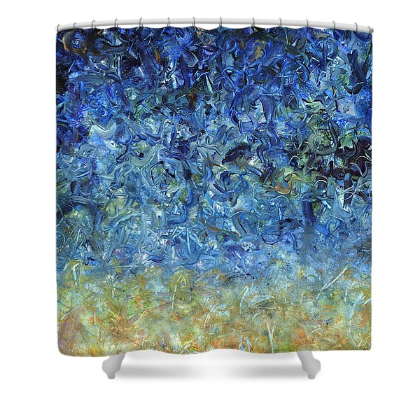 Paint number 59 Shower Curtain by James W Johnson