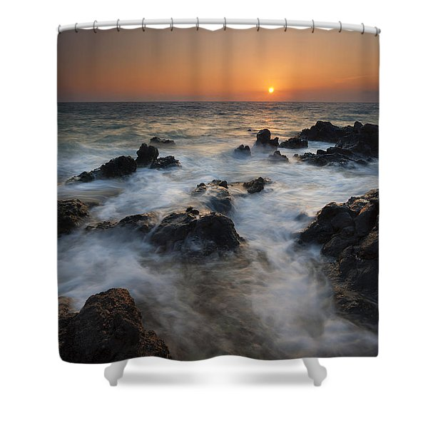 Paradise Flow Shower Curtain by Mike  Dawson
