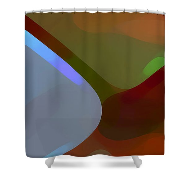 Paradise Found 1 Panel A Shower Curtain by Amy Vangsgard