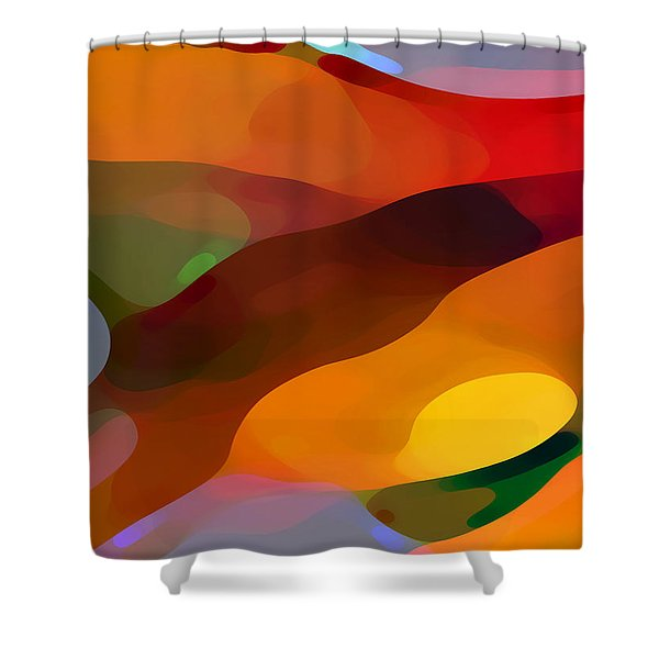 Paradise Found Shower Curtain by Amy Vangsgard